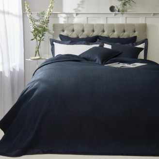 The White Company Hampstead Quilt, Midnight, Double