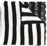 Ermanno Scervino striped scarf