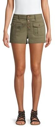 No Boundaries Juniors Patch Pocket Shorts