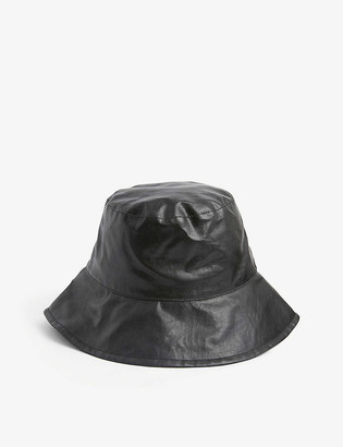 Isabel Marant Loiena waxed linen bucket hat
