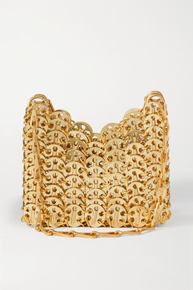 Paco Rabanne 1969 Chainmail Shoulder Bag - Gold