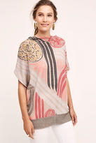 Anthropologie Abstracted Cowl Pullover