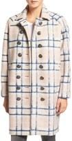 Rebecca Minkoff Santo Plaid Wool-Blend Coat
