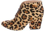 Kate Spade Ponyhair Ankle Boots