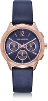 Karl Lagerfeld Optik PVD Rose Goldtone Stainless Women's Chronograph Watch