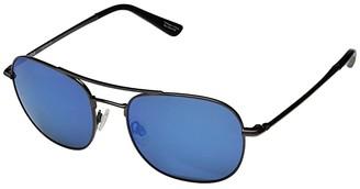 Spy Optic Pemberton (Gunmetal/HD Plus Gray Green w/ Dark Blue Spectra Mirror) Fashion Sunglasses