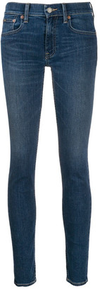 Polo Ralph Lauren Stretch Cotton Mid-rise Skinny Jeans