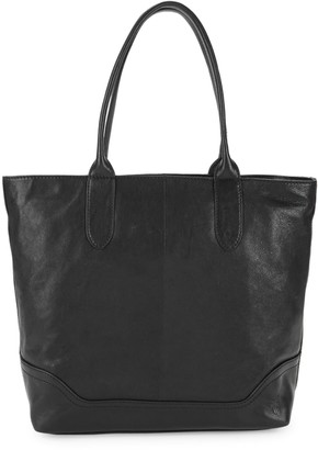 Frye Madison Leather Zip Tote