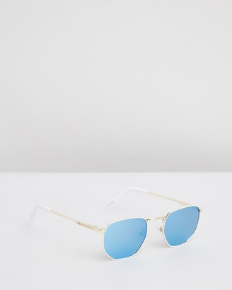 Le Specs White Square - Alto - Size One Size at The Iconic