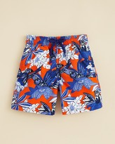Vilebrequin Boys' Forest Paradise Print Swim Trunks - Sizes 10-14