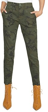 Sanctuary Palmer Camouflage Cigarette Skinny Jeans