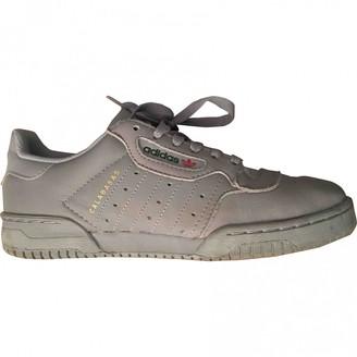 Yeezy X Adidas POWERPHASE Grey Leather Trainers