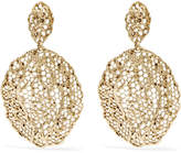 Aurelie Bidermann Dentelle Gold-plated Earrings