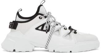 McQ White ORBYT Runner Sneakers