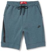 Nike - Slim-fit Tapered Cotton-blend Tech Fleece Shorts