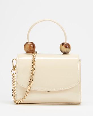 Topshop Mason Tortoiseshell Ball Mini Bag
