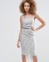 Little Mistress Lace Pencil Dress