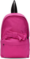 Comme des Garcons Pink Nylon Bow Backpack