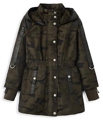 Habitual Girl's Delilah Camo Jacket