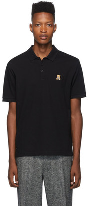 Moschino Black Teddy Toy Polo