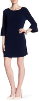 Julie Brown Elle Bell Sleeve Shift Dress