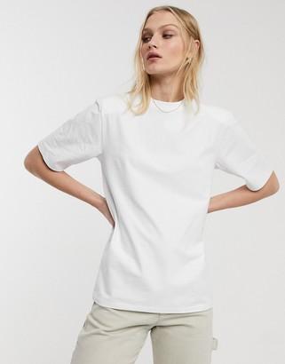 Asos shoulder pad t-shirt