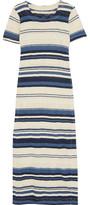 Splendid Striped Cotton Maxi Dress