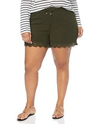 Junarose Women's Jriberis Mw Shorts-S, Blue Navy Blazer, (Size: Oversize M)