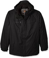 Free Country Men's Big and Tall B8g and Cubic Dobby Systems Coat