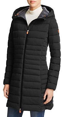 Save The Duck Angy Long Puffer Coat - 100% Exclusive