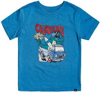 Quiksilver Hot Rod Crocodile Graphic T-Shirt