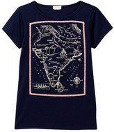 J.Crew Factory J. Crew Factory Short Sleeve India Map Graphic Tee (Toddler & Little Girls)