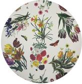 "N. Nicolette Mayer Flora Fauna 16"" Round Pebble Placemats, Set of 4"