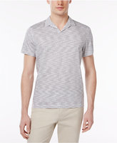 Alfani Men's Striped Cotton Polo, Only at Macy's