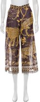 Valentino Printed High-Rise Culottes w/ Tags
