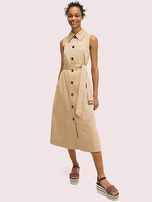 Kate Spade Sleeveless Shirtdress