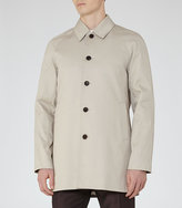 Reiss Almond Cotton-Blend Coat