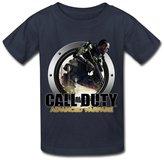 LR KIDS T SHRIT LR Call Of Duty Advanced Warfare Icon T Shirt For Kids Big Boys' Tee Shirt M