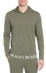 HUGO BOSS Identity Stretch Cotton Hoodie