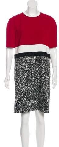 Paule Ka 2017 Colorblock Dress