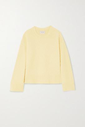 HOLZWEILER Brunost Waffle-knit Cotton Sweater