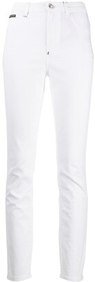 Philipp Plein Statement high-waisted jeans