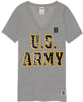 Victoria's Secret Victorias Secret Army Perfect V-Neck Tee