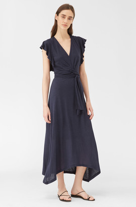 Rebecca Taylor Jersey Ruffle Dress