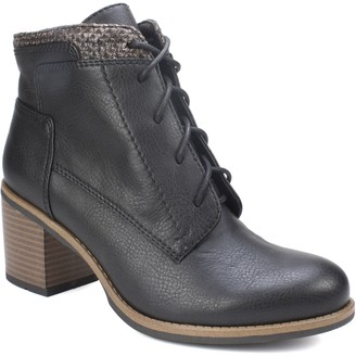 White Mountain Lace-Up Ankle Booties - Desmen