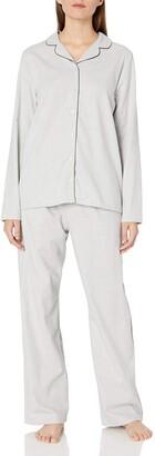 Hanro Women's Edda Long Sleeve Pajama Set