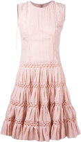Ermanno Scervino sleeveless full skirt dress - women - Silk/Nylon - 40