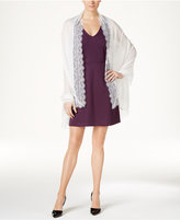 INC International Concepts Lace Insert Evening Wrap, Only at Macy's