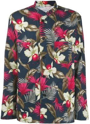 Engineered Garments Hawaiian floral print jacket