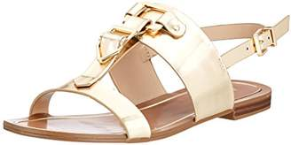 Aldo Women's AFIARIEN Ankle Strap Sandals, (Gold 82)